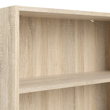 Load image into Gallery viewer, Basic Low Wide Bookcase (2 Shelves) in Oak