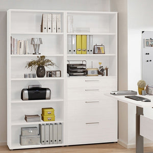 Prima Bookcase 5 Shelves in White