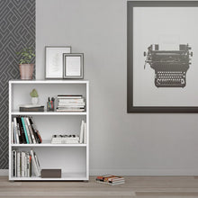 Load image into Gallery viewer, Prima Bookcase 2 Shelves in White