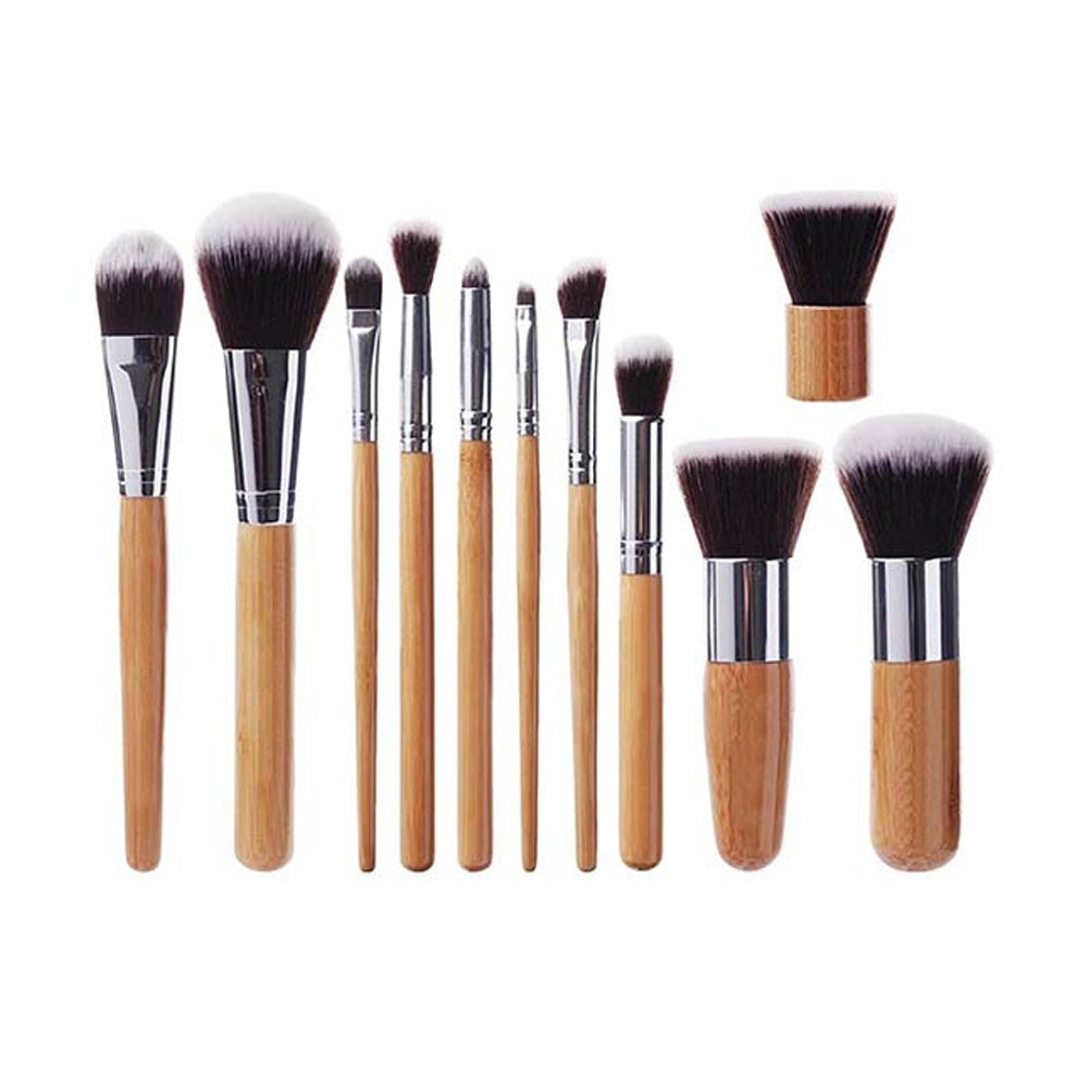 Set de 11 pcs Pinceaux Bambou & Vegan - BRUSHIT