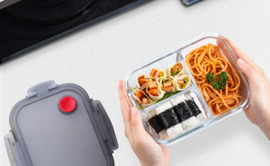Lunch Box en Verre Compartimentée | KLAP