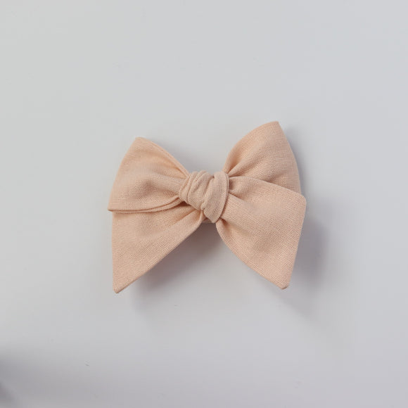 Peach-Chunky Knot Mini