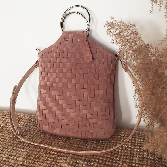 WOVEN MALLOW O-RING BAG