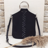 TRIANGLE WOVEN O-RING BAG