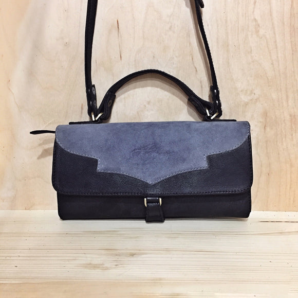 BLACK-BLUE AIKILAH WALLET-BAG