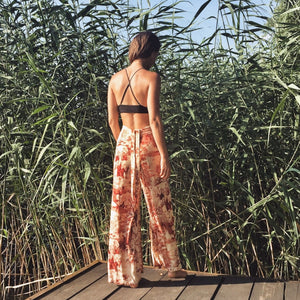 RED SAFARI MAY-SKIRTPANTS