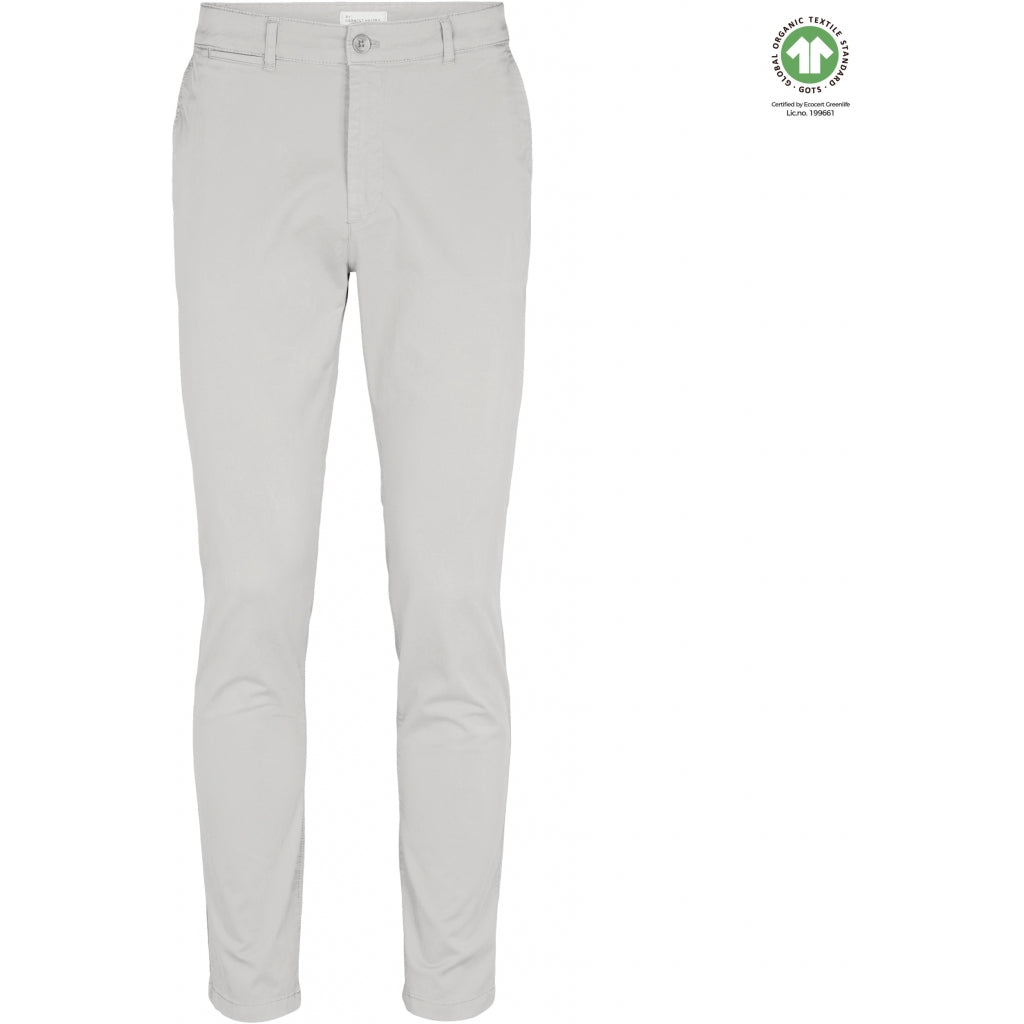By Garment Makers The Organic Chino Pants Pants 1006 Marshmallow