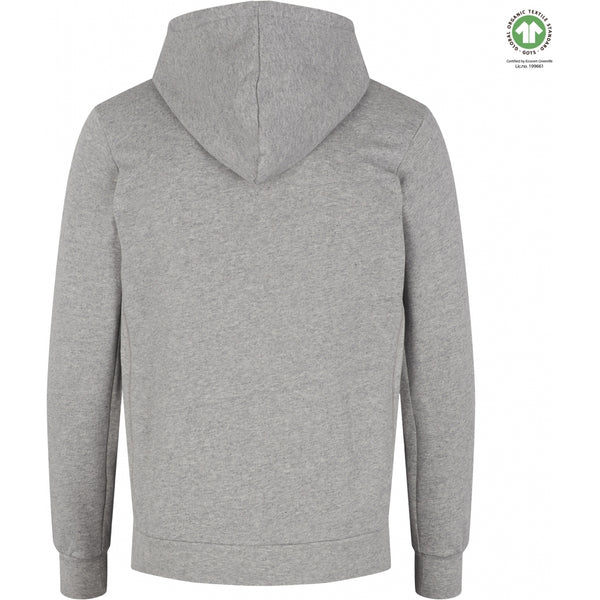 By Garment Makers The Organic Hood Sweatshirt - Jones Sweatshirt 1145 Light Grey