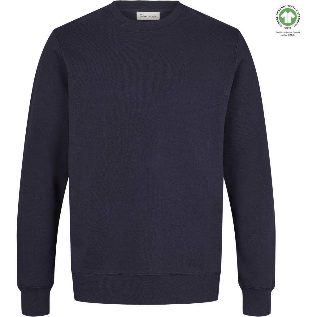 By Garment Makers The Organic Sweatshirt Sweatshirt 3096 Navy Blazer