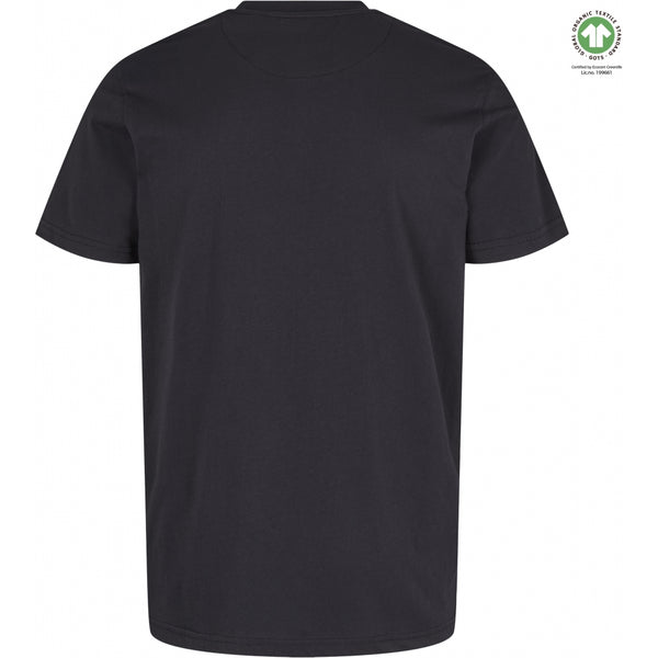 By Garment Makers The Organic Tee T-shirt 1204 Jet Black