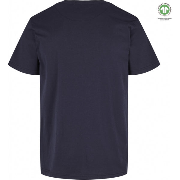By Garment Makers The Organic Tee T-shirt 3096 Navy Blazer