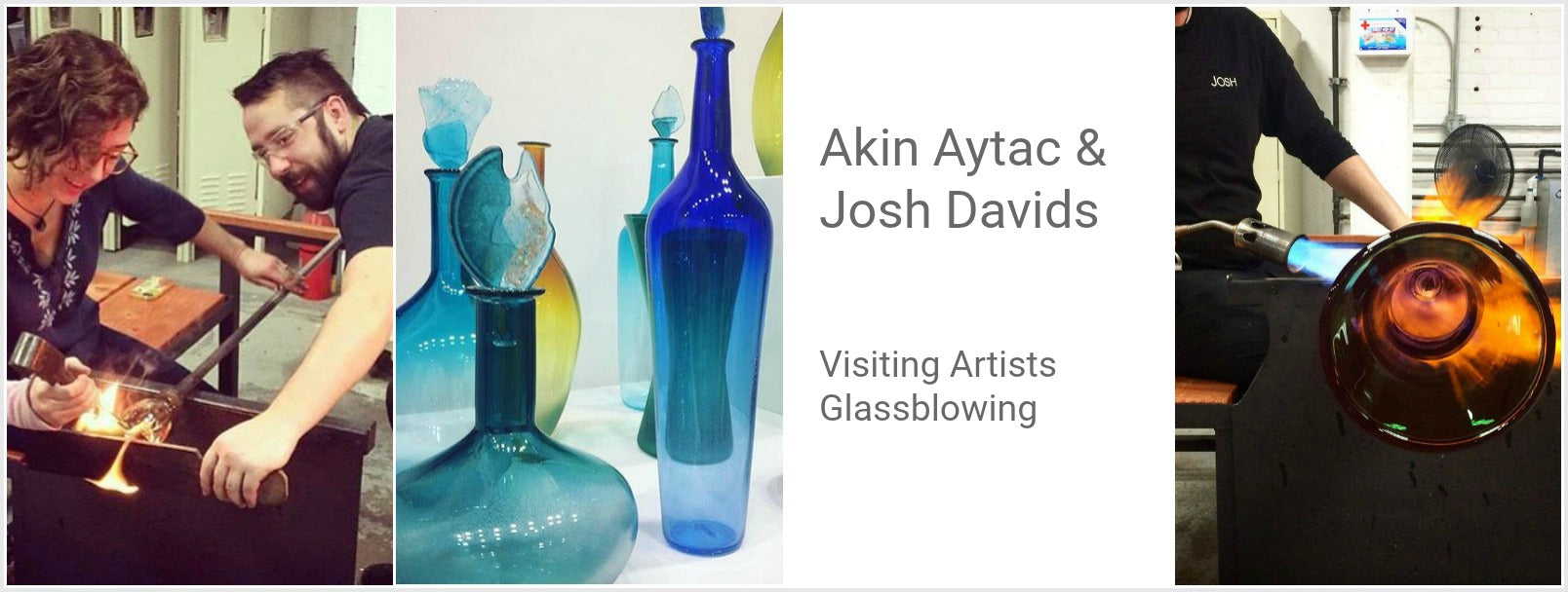 Ekin Aytac and Josh Davids, Visiting Artists, Working Hot