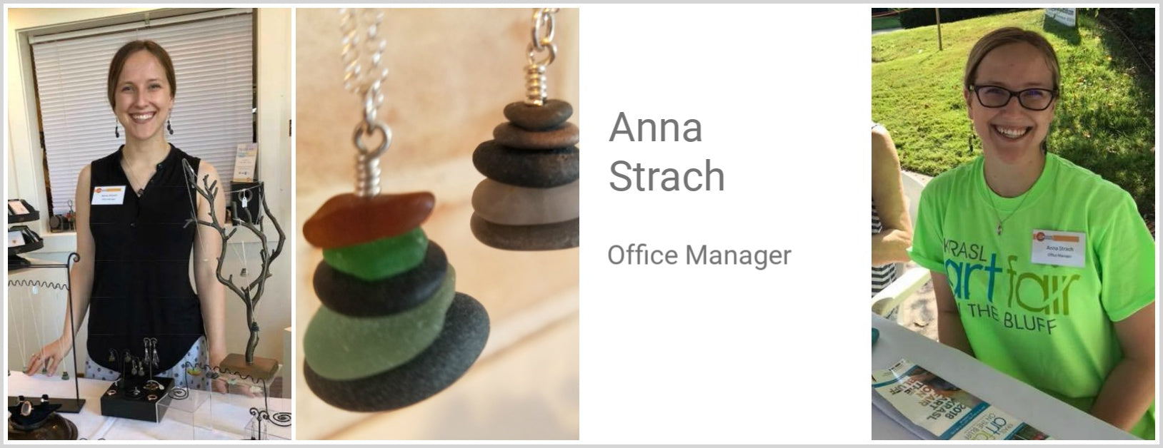 Anna Strach, Office Manager
