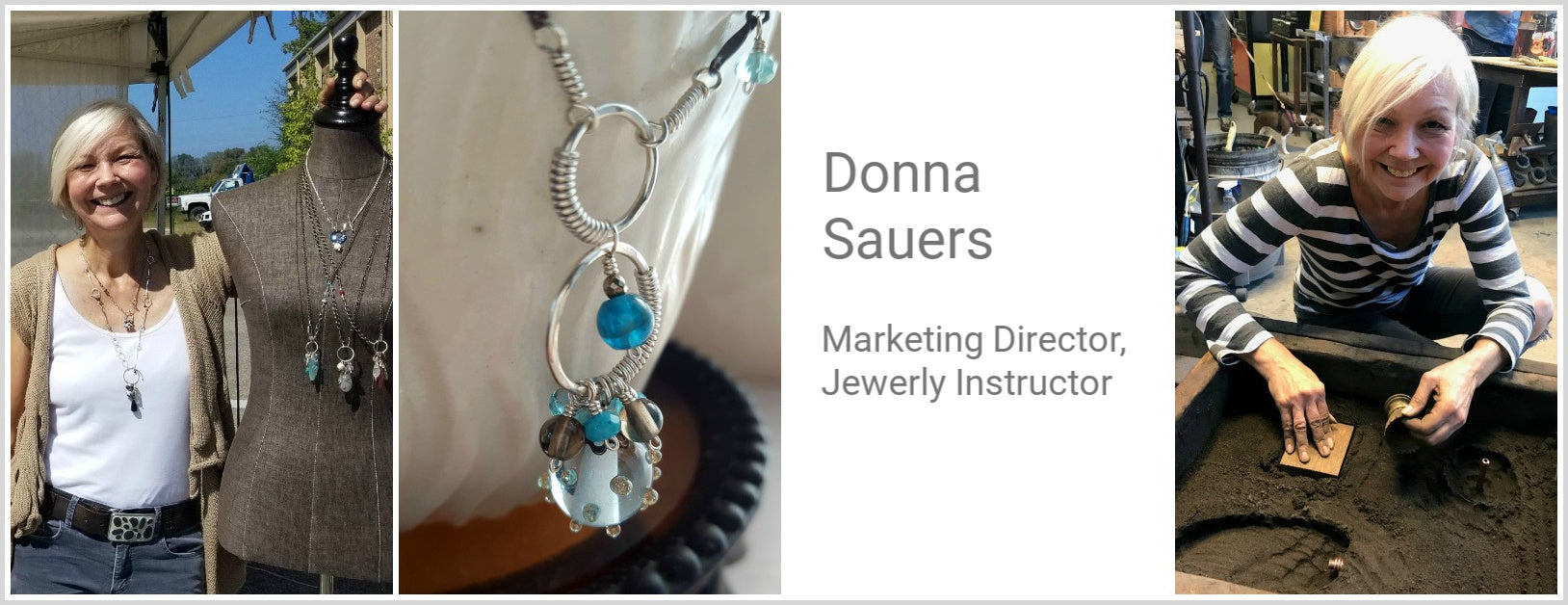 Jewelry Instructor Donna Sauers
