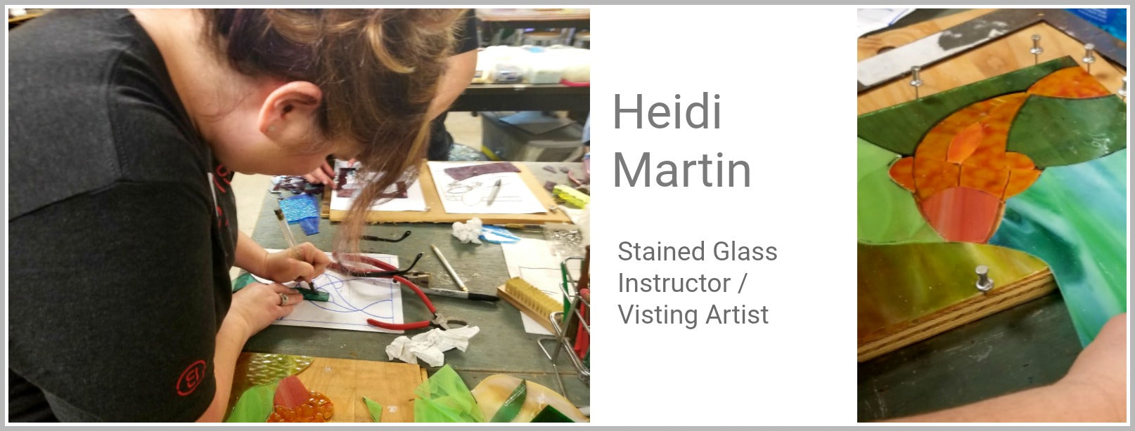 Heidi Martin Stained Glass Visiting Artist