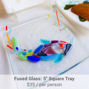 Fused Glass Tray Project