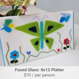 Fused Glass Platter Project