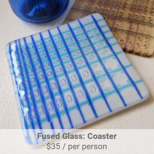Fused Glass Coaster Project