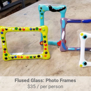 Fused Glass Picture Frame Project