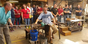 Glassblowing Demo at WSG