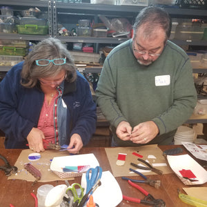Fused Glass Ornament Workshop: Saturday, December 7