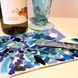 Fused Glass Cheeseboard