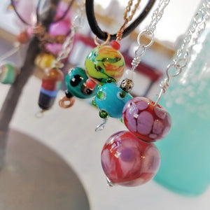 Flamework Beads Pendant Party