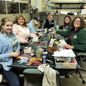 Imprinted Pendant class - creating images with a rolling mill