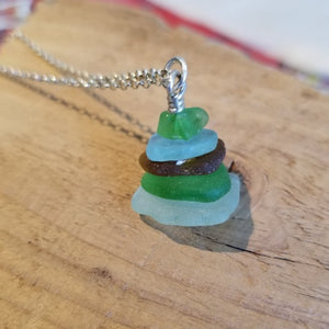 Stacked Beach Necklace - Anna Strach