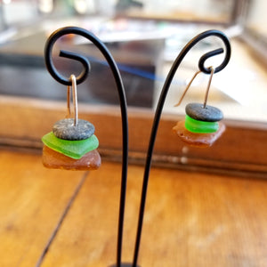Stacked Beach Earrings - Anna Strach