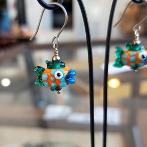 Gone Fishing Earrings - Gina Edwards