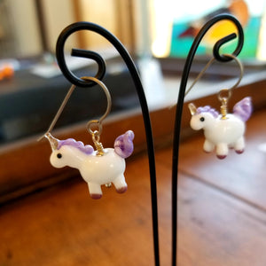 Unicorn Earrings - Gina Edwards