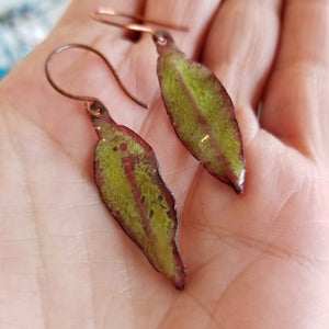 Leaf Earrings - Tina Tavolacci