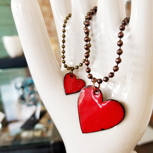 Heart Necklace (2 Sizes) - Jackie Baker