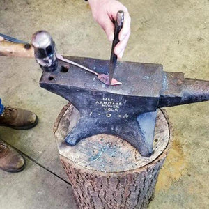 Blacksmithing anvil