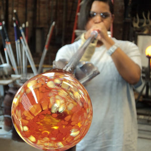 Beginning GLassblowing class