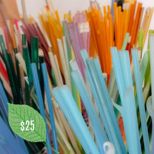Donate Lampwork Glass Rods