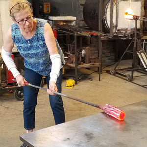 shaping glass bundles for cane