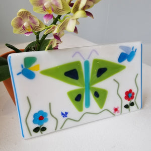 Fused Glass Butterfly Project