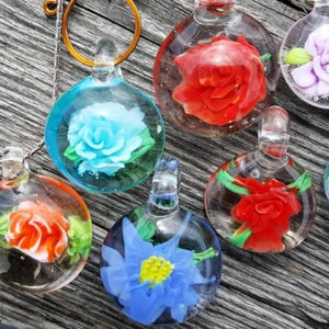 Implosion Flower Pendents