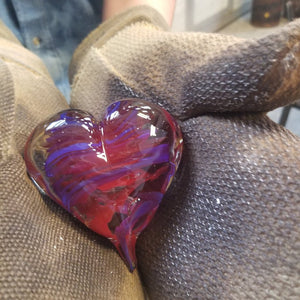 New! Valentine's Glass Experience: Heart of Glass