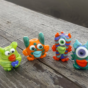 Sculptural Beads - Monster Mash