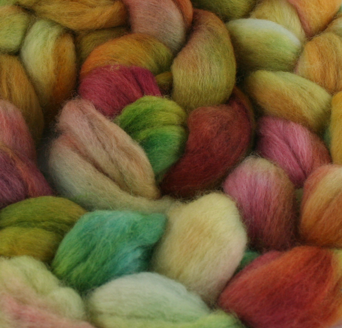 100% Merino 'Harvest' 4 oz Combed Top