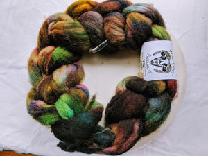 100% Wool 'Fresh Soil' 100g Combed Top