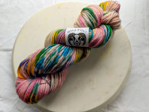 90/10 SW Merino Silver Sparkle 'Unicorns' 200g Super Bulky Weight Yarn
