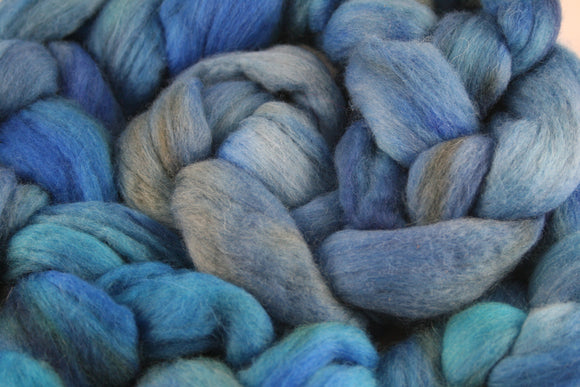 100% Merino 'Denim' 4 oz Combed Top