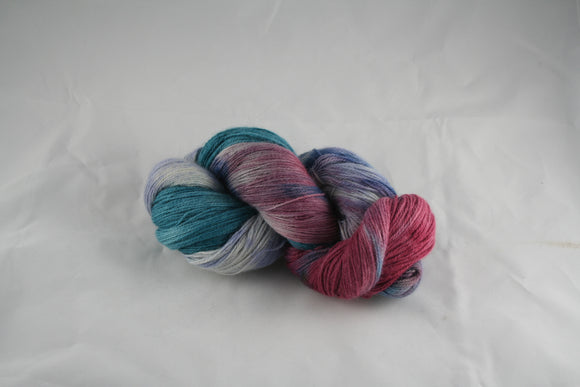 100% Superfine Prime Alpaca 'Frosted Berry' 8 oz Laceweight Yarn