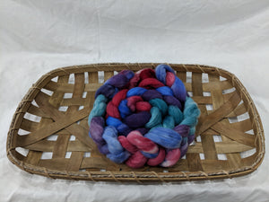 100% Merino 'Frozen Berry' Combed Top