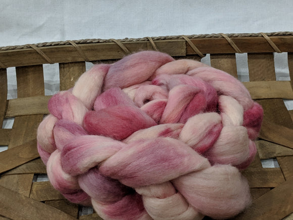100% Merino 'Rose' 4.3 oz Combed Top