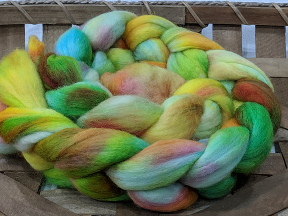 100% Merino 'Harvest Table' 4 oz Combed Top